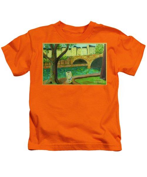 Paris Rubbish Kids T-Shirt