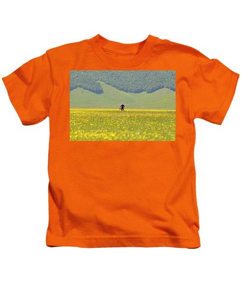Parko Nazionale Dei Monti Sibillini, Italy 1 Kids T-Shirt