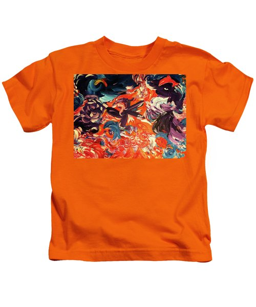 Party In A Parallel Reality Kids T-Shirt