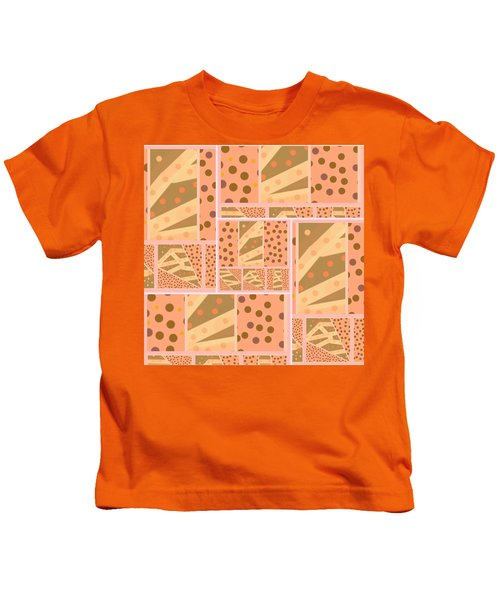 Patterns Of Finding Solace 200 Kids T-Shirt