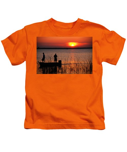 Peace Over The Water Kids T-Shirt