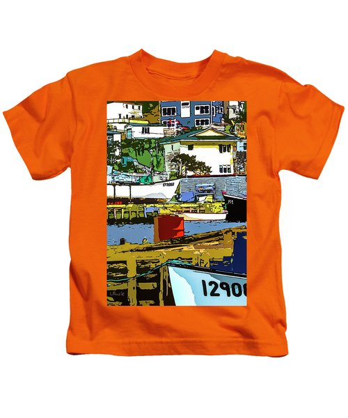 Petty Harbor Kids T-Shirt