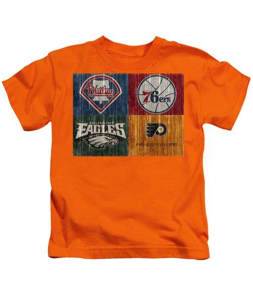 Philadelphia Sports Teams Kids T-Shirt