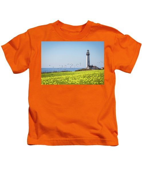 Pigeon Point Light Station Historic Park Kids T-Shirt