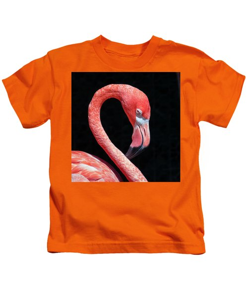 Pink Flamingo Kids T-Shirt