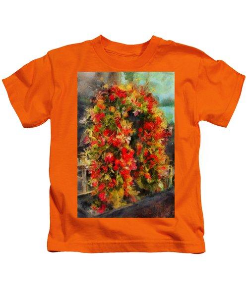 Pi's Flowers 2 Kids T-Shirt