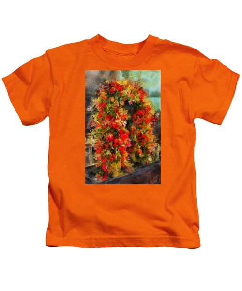 Pi's Flowers 2 Kids T-Shirt