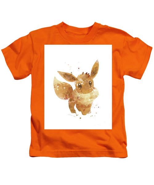 3d45a6bd Eevee Kids T-Shirts | Fine Art America