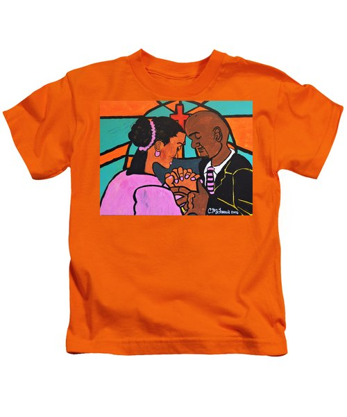 Power Of Prayer Kids T-Shirt