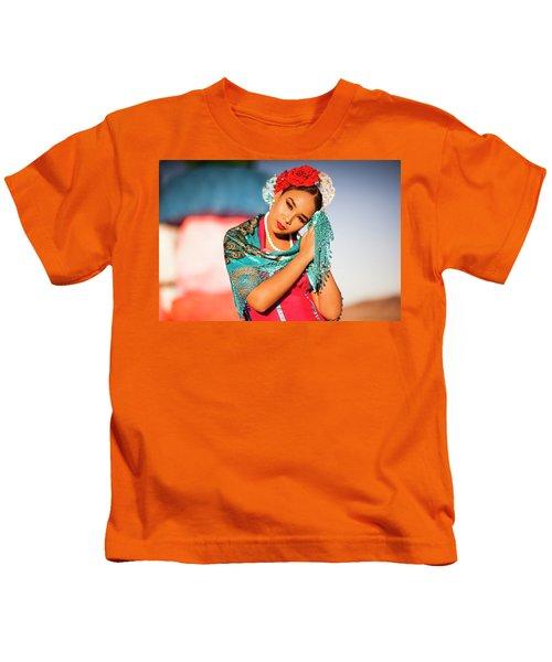 Praying Cathy Kids T-Shirt