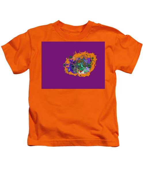 Puff Of Color Kids T-Shirt