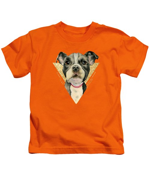 Puppy Eyes 3 Kids T-Shirt