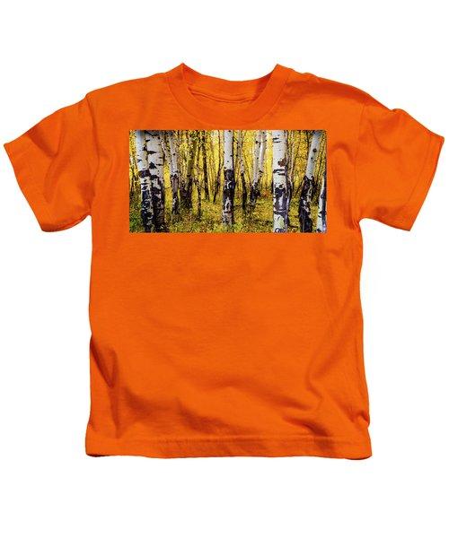 Quakies In Autumn Kids T-Shirt