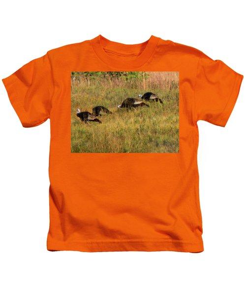 Quick Hide It's Thanksgiving Kids T-Shirt