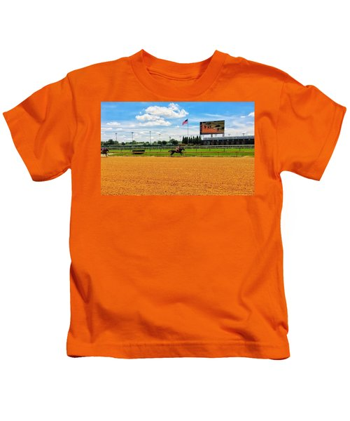 Race Day  Kids T-Shirt