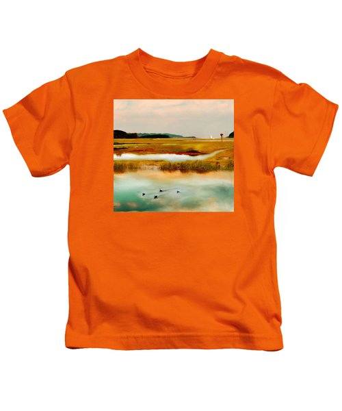 Racing The Tide Kids T-Shirt