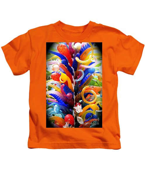 Rainbow Spirals Kids T-Shirt