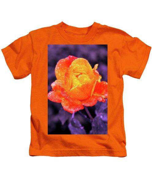 Raindrops On Roses Kids T-Shirt
