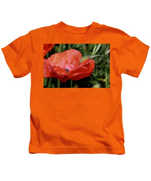 Red Poppy Kids T-Shirt