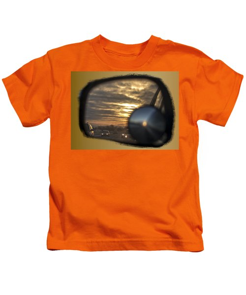 Reflection Of A Sunset Kids T-Shirt