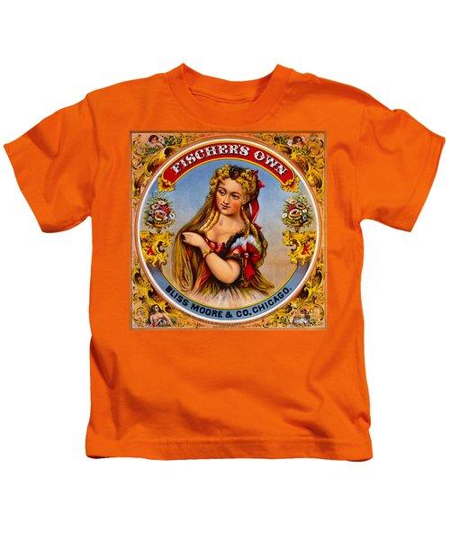 Retro Tobacco Label 1872 A Kids T-Shirt