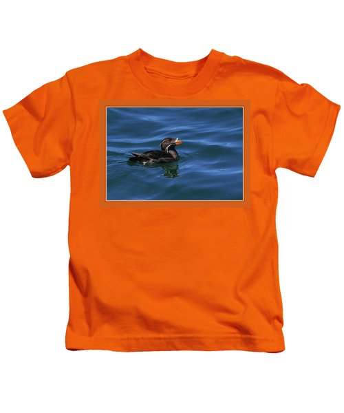 Rhinocerous Kids T-Shirt by BYETPhotography