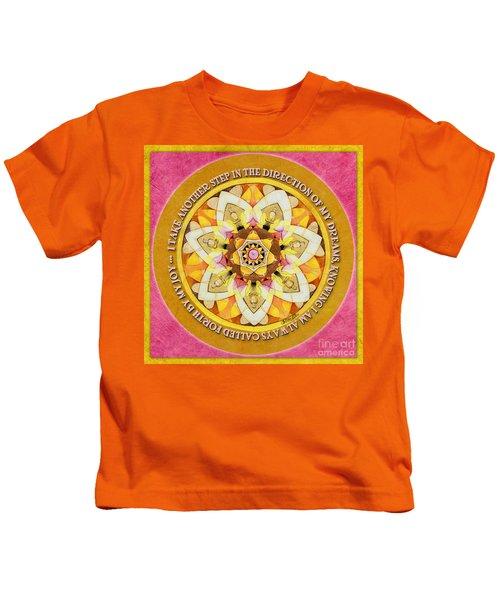 Right Path Mandala Prayer Kids T-Shirt