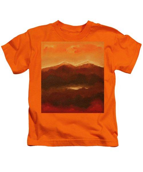 River Mountain View Kids T-Shirt