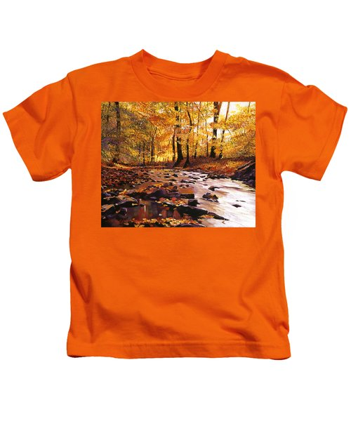 River Of Gold Kids T-Shirt