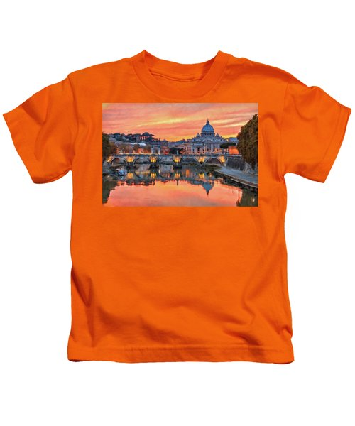 Rome And The Vatican City - 01  Kids T-Shirt