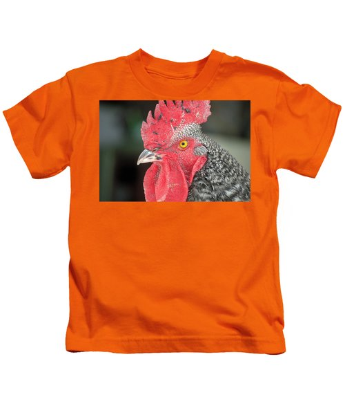 Rooster Named Brute Kids T-Shirt