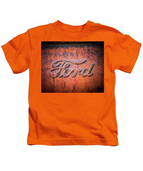 Rust Never Sleeps - Ford Kids T-Shirt