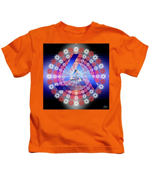Sacred Geometry 646 Kids T-Shirt