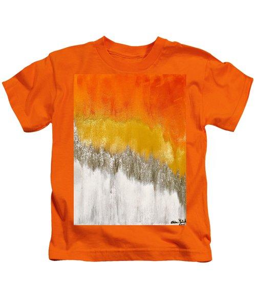 Saffron Sunrise Kids T-Shirt