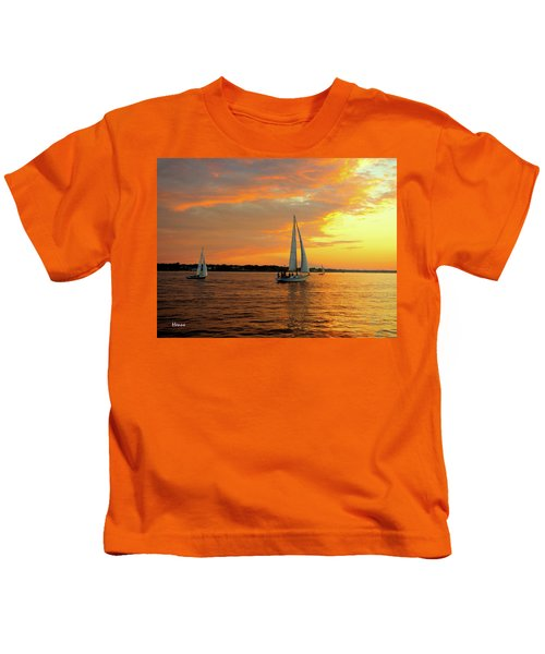 Sailboat Parade Kids T-Shirt