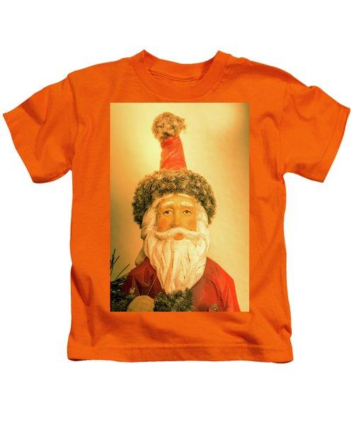 Santa Is Watching Kids T-Shirt