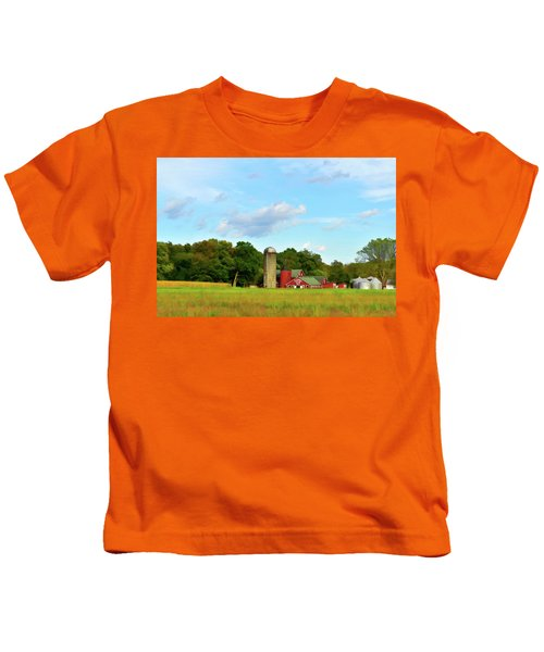 Sauer Farm, Mt. Marion Kids T-Shirt