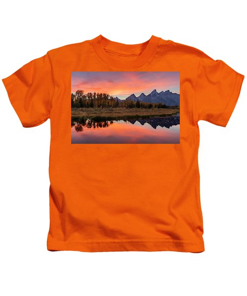 Schwabacher Sunset 2 Kids T-Shirt