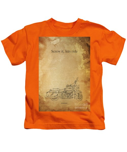 Screw It, Lets Ride Kids T-Shirt