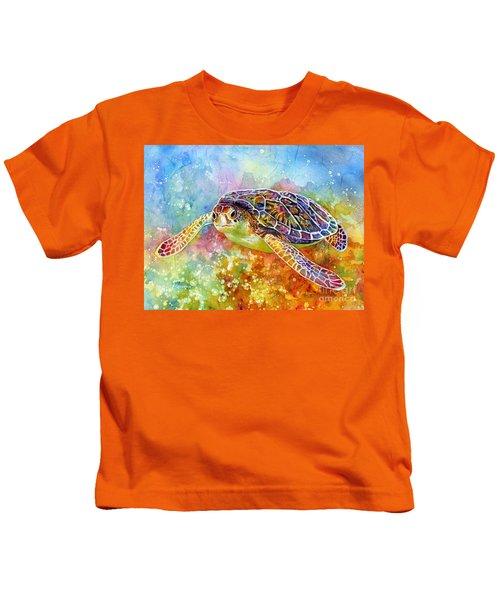 Sea Turtle 3 Kids T-Shirt