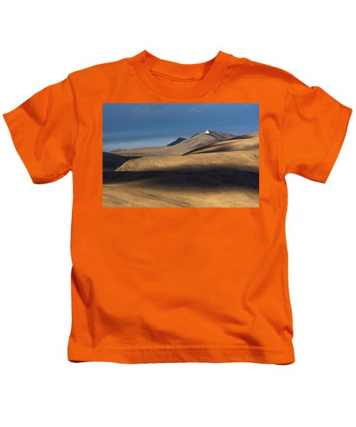 Shadows On Hills Kids T-Shirt