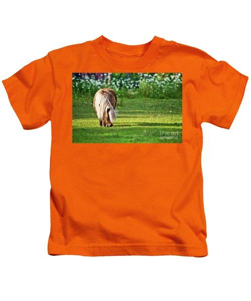 Shetland Pony Kids T-Shirt