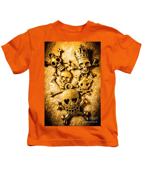 Skulls And Crossbones Kids T-Shirt