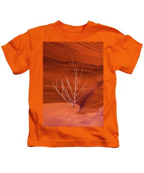 Slot Canyon Sentinel Kids T-Shirt