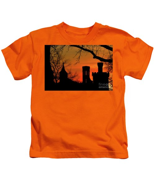 Smithsonian Castle Kids T-Shirt by Luv Photography