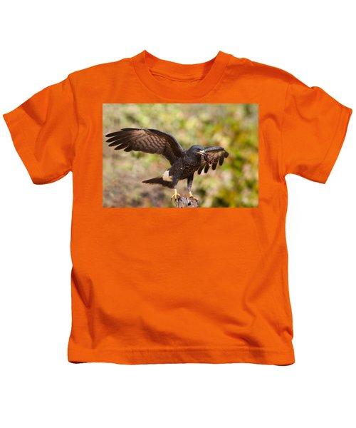 Snail Kite With Crab In Pantanal Kids T-Shirt