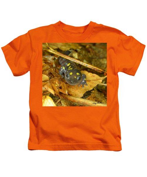 Spotted Salamander Kids T-Shirt