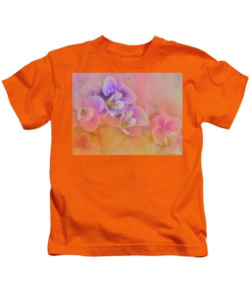 Spring Orchids Kids T-Shirt