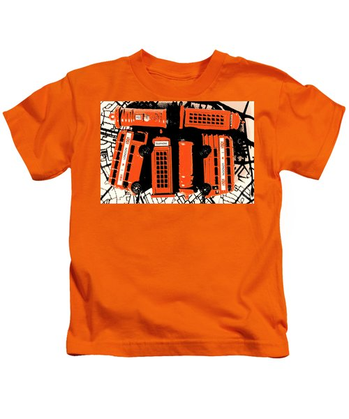 Stacking The Double Deckers Kids T-Shirt