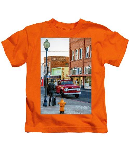 Standin On The Corner Park Kids T-Shirt